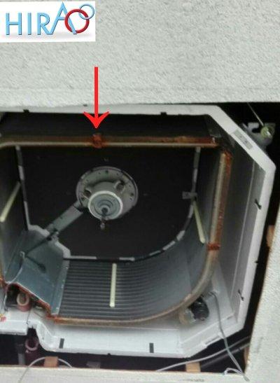 エアコンの消耗品の金具について