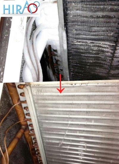 エアコンの分解洗浄をおすすめ致します。参考現場:名古屋