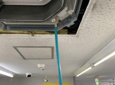 エアコンは、ここまで洗浄されていますか?