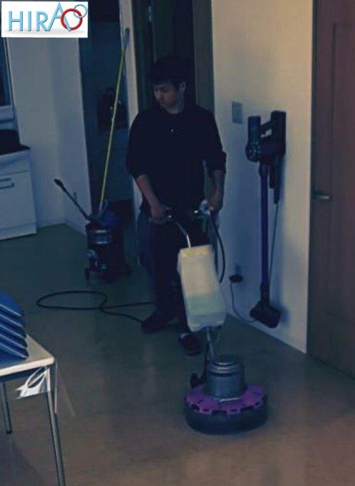 滋賀のHIRAO は、三重にて本日一班作業中です。定期清掃は、HIRAO まで