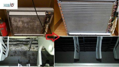 滋賀の清掃会社は、同じ金額で鳥取まで出張致します。エアコン洗浄に大阪より一斑伺いました。