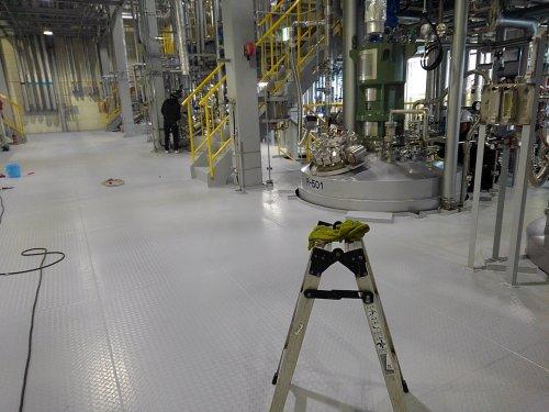 滋賀彦根にて工場のクリーニング