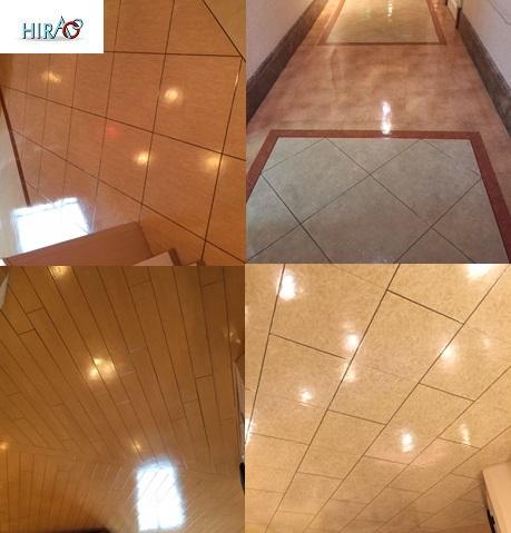 京都のホテルの客室と共用部分の床クリーニング滋賀のHIRAOは、関西 東海で今日も頑張っております。